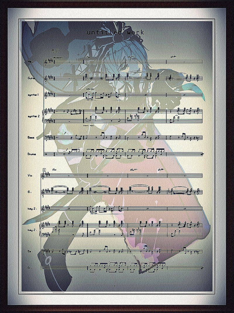 推定無題BandSCORE7edit
