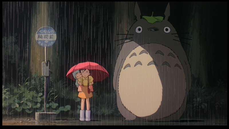 Totoro and Bus Stop