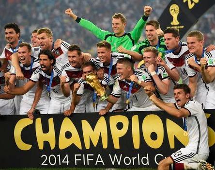 ドイツ優勝