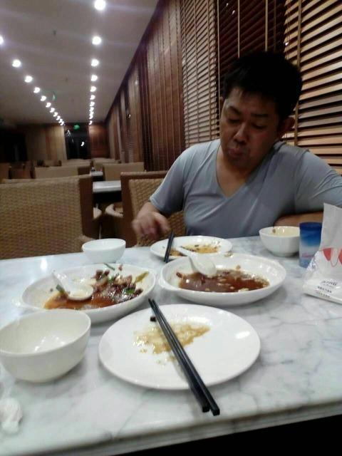 清隆と晩飯