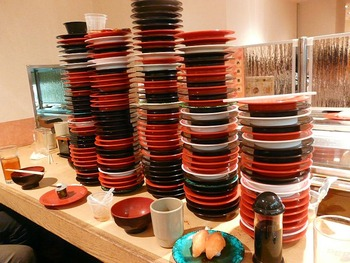 回転寿司皿