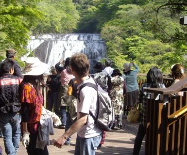 袋田の滝GW