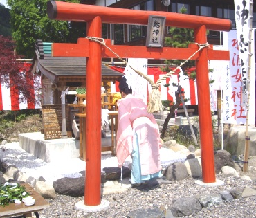 6月1日鮎神社