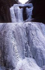 袋田の滝-氷瀑(高画質)