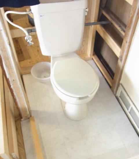 トイレ床工事_27