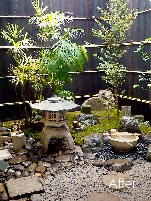 庭のリフォーム01