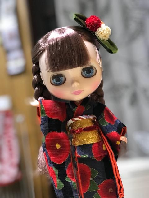 お目目がクリクリのブライス人形にハマった母娘