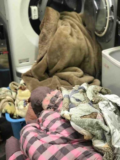 毛布に布団にカーペットの大物類も綺麗にして仕舞い洗いを忘れずに!