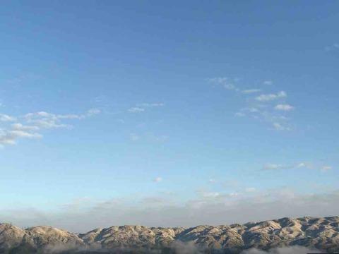 雪化粧が見えたら、雪山の金剛山へGO!!