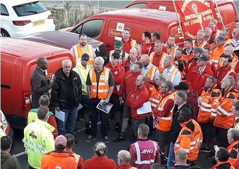 イギリス郵政労働者の闘い