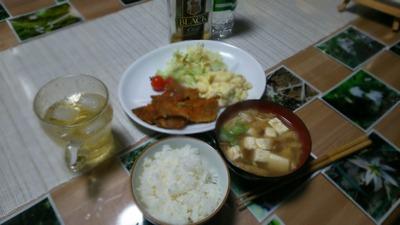 今晩の夕食