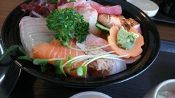 海鮮丼up