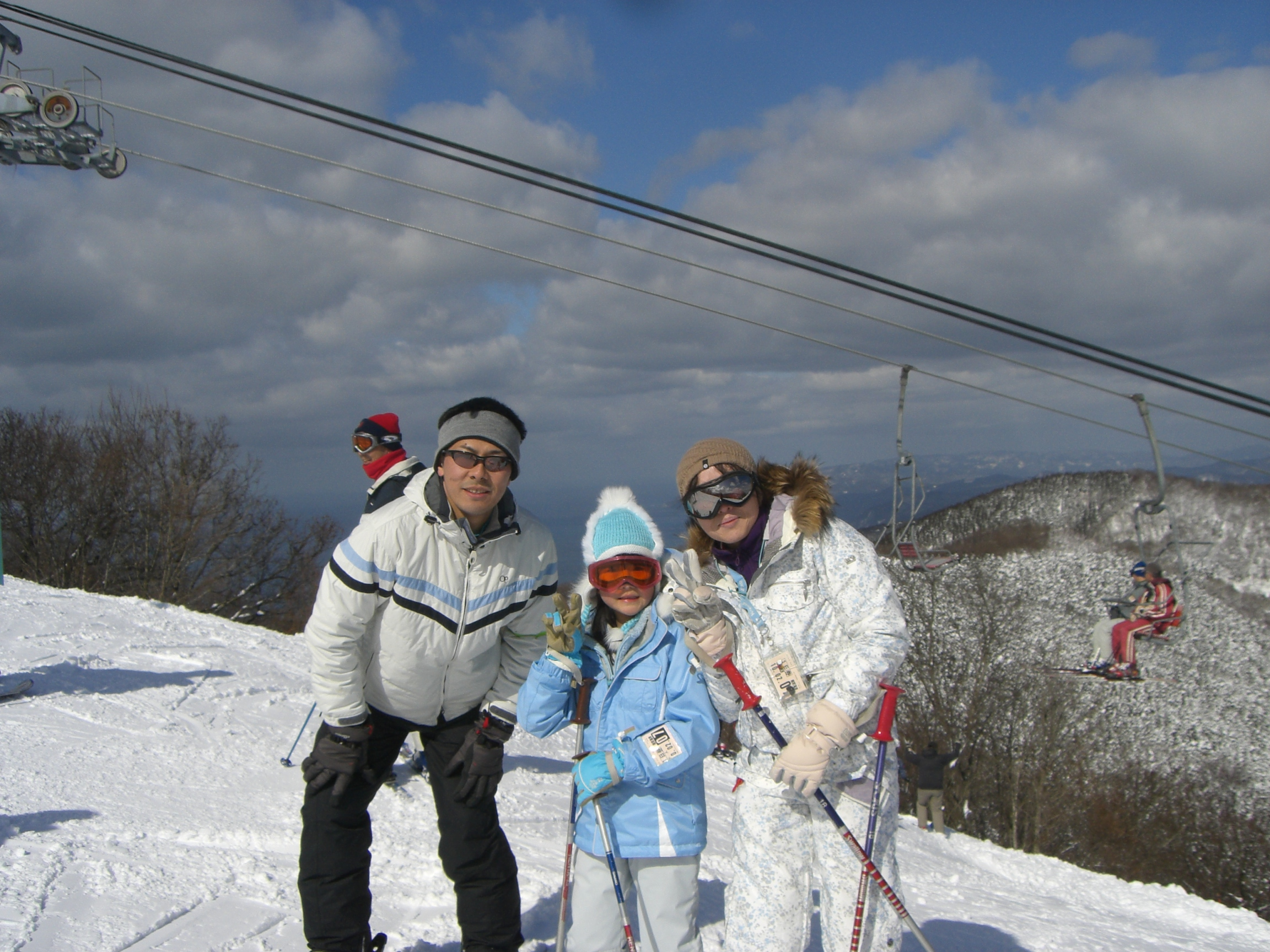 スキー 日帰り