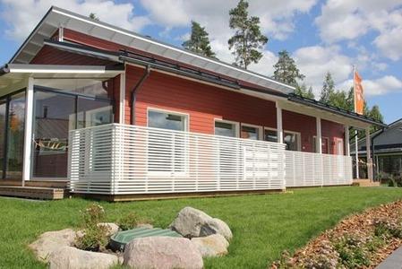 北欧の家の色彩1