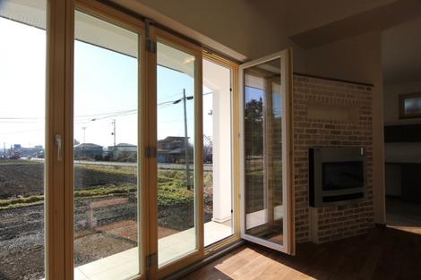 フォールディングドアの家(2)