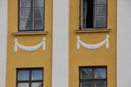 北欧住宅の窓際7