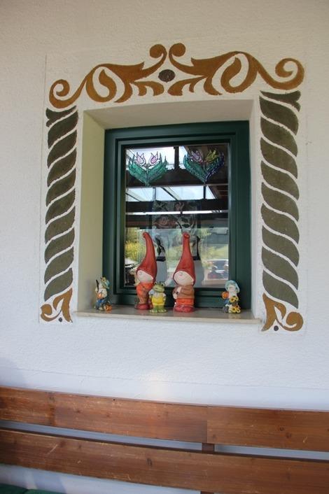 窓周りの装飾