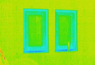 工事中の無暖房の家
