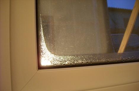 窓の結露試験 (1)