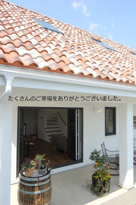 南欧スタイルの家