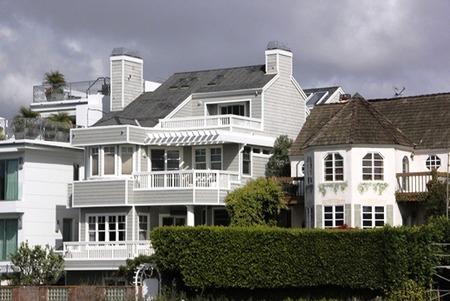 アメリカ住宅の外観