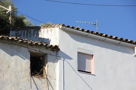 南欧の白い街(3)