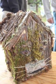 野鳥の巣箱