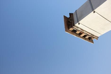 屋根上のバルコニー(1)