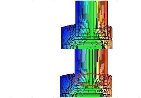 ガラススペーサーの断熱比較