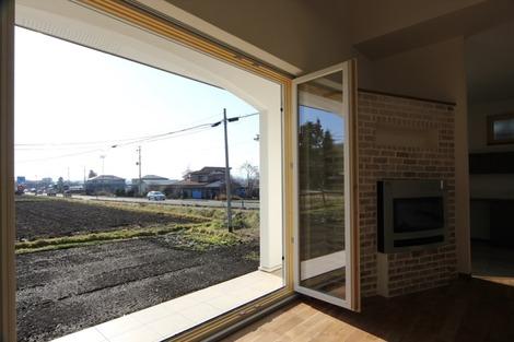 フォールディングドアの家(3)