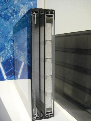 蓄熱ガラス層