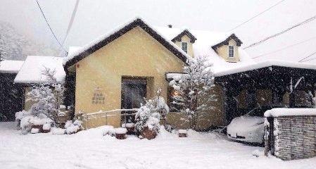 大雪の三重県