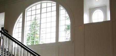 アメリカの家の窓�