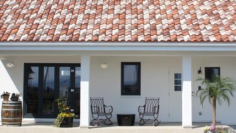スペイン風の家