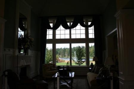 アメリカの家の窓 (1)