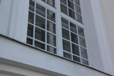 北欧住宅の窓際1
