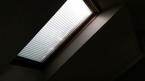 天窓の採光が・・