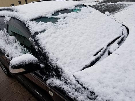 4月の岩手の雪・・