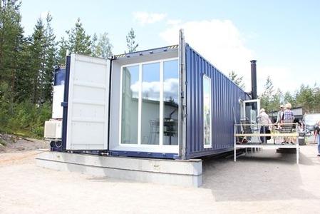 北欧のコンテナ住宅 (1)