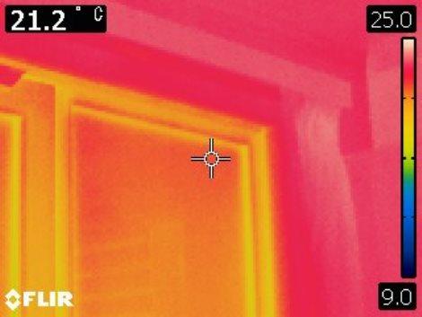 住宅のサーモ画像2