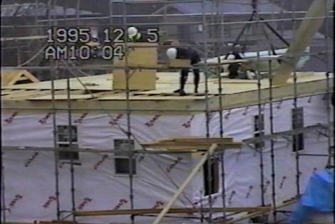22年前のフレーミング住宅2