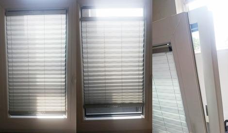 ドレーキップ窓のカーテンブラインド(2)