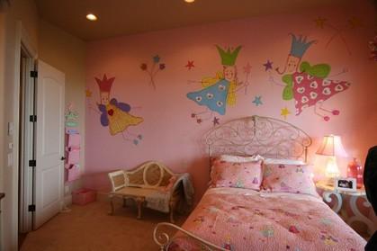 アメリカの子ども部屋
