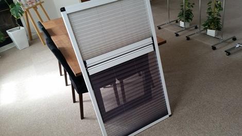 ドレーキップ窓日除けスクリーン (2)