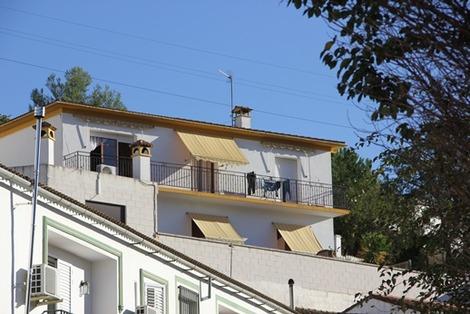 南欧の白い街(2)