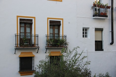 南欧の白壁(3)