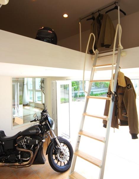 ビルトインバイクガレージ(2)