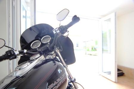 ビルトインバイクガレージ (2)