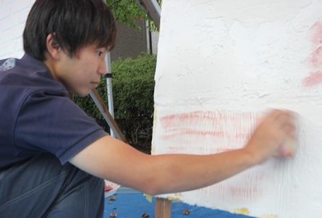 漆喰教室(6)