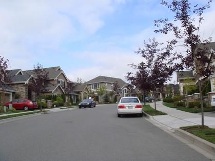 シアトルの住宅地